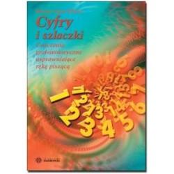 CYFRY I SZLACZKI ćwiczenia grafomotoryczne usprawniające rękę piszącą