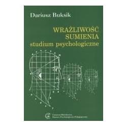 WRAŻLIWOŚĆ SUMIENIA - STUDIUM PSYCHOLOGICZNE