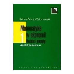 MATEMATYKA W EKONOMII - MODELE I METODY TOM 1