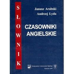 Czasowniki angielskie SŁOWNIK