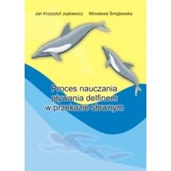 Proces nauczania pływania delfinem w przekazie słownym
