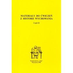 Materiały do ćwiczeń z historii wychowania Część 2