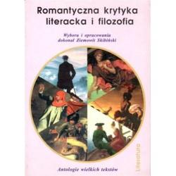 Romantyczna krytyka literacka i filozofia