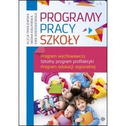 PROGRAMY PRACY SZKOŁY Program wychowawczy. Szkolny program profilaktyki. Program edukacji regionalnej
