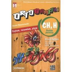 """Ortograffiti Czytam, rozumiem, piszę - wyrazy z """"ch"""", """"h"""". Poziom pierwszy. Zeszyt ćwiczeń dla uczniów klasy IV-V szkoły podstaw"""
